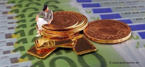 Gold, Goldmünzen, Krise (Foto: Goldreporter)