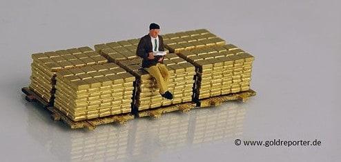 Gold, Goldbarren, Engpass (Foto: Goldreporter)