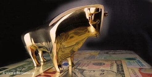 Goldpreis, Gold, Bulle (Foto: Goldreporter)