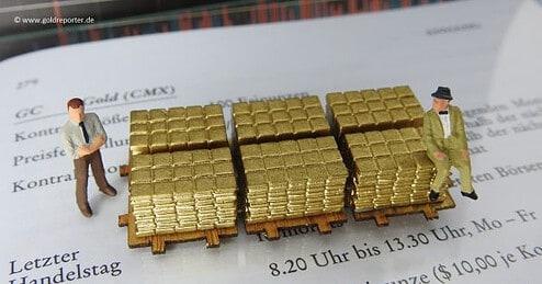 Gold, COMEX, Futures (Foto: Goldreporter)