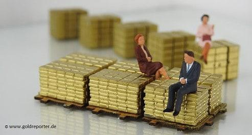 Gold, Besitz (Foto: Goldreporter)