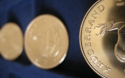 Gold Krügerrand, Goldmünzen (Foto: Goldreporter)