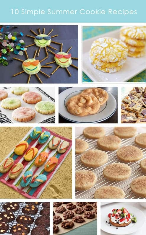 10 Simple Summer Cookie Recipes Featured on Living Locurto