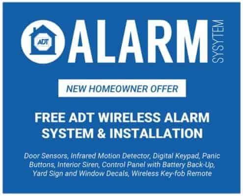 Free ADT alarm system