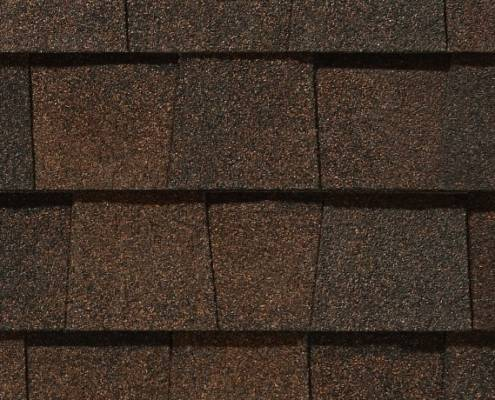 Burnt Sienna Colored Shingles