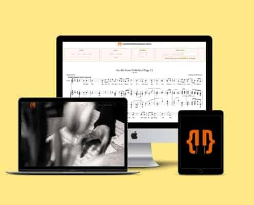 Open Sheet Music Display Software Bibliothek