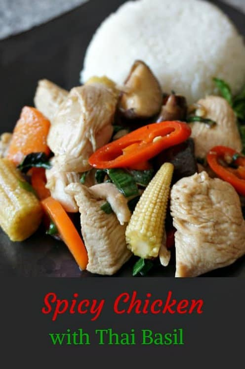 chicken with thai basil