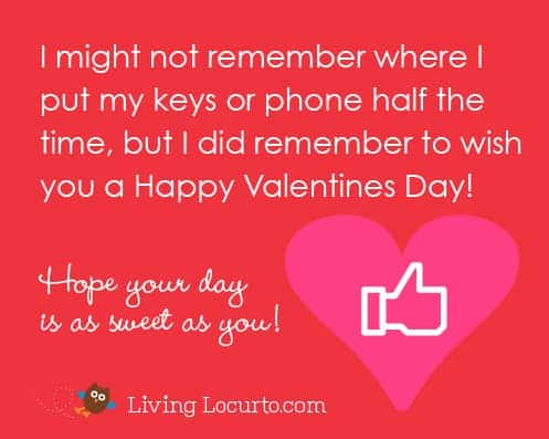 Free Valentine's Day E-Card by Amy at LivingLocurto.com - Share with your friends!