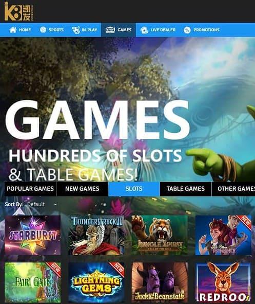 K8 Casino Online