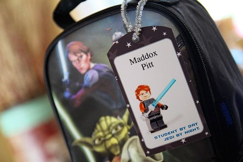 Free Printable Star Wars Lego Tags