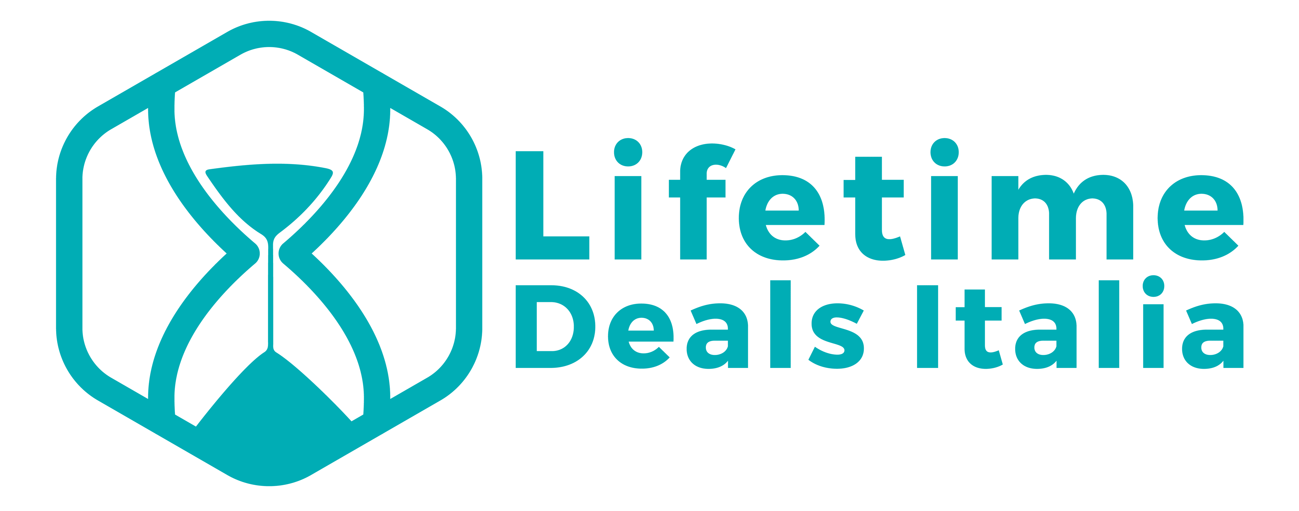 Lifetime Deals Italia - Logo e Testo - Header