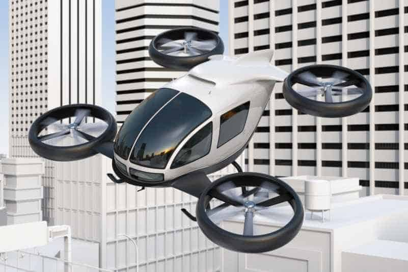 Passenger Drone, Air Taxi, Flying Car