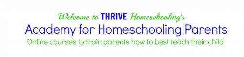 Thrive Homeschooling