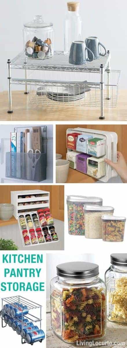 Kitchen Pantry Storage Ideas