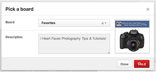 How to Bookmark Your Favorite Pinterest Boards Directly ON Pinterest. LivingLocurto.com