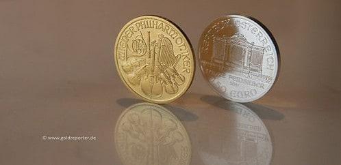 Gold, Silber, Ratio