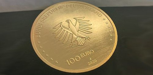 Gold, Goldpreis, Euro, Goldmünze (Foto: Goldreporter)