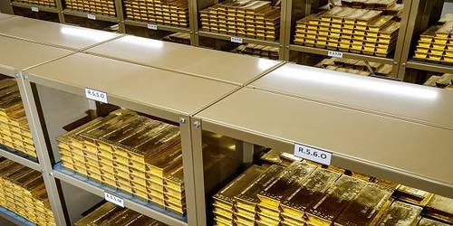 Gold, Goldbarren, Goldreserven
