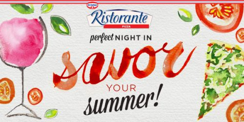 Ristorante Pizza - Savor Your Summer Perfect Night In Giveaway