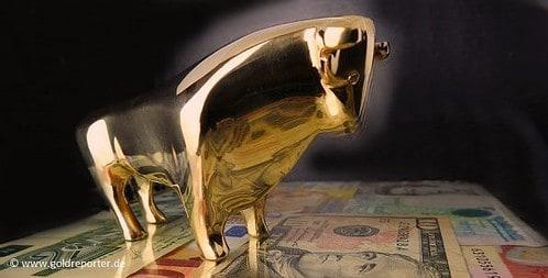 Gold-Bulle (Foto: Goldreporter)