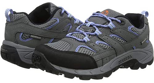 Kids like the moab hiking shoe because it's sneaker like and comfortable and comes in unisex colors.