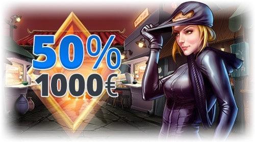 Exclusive promotion to EgoCasino.com