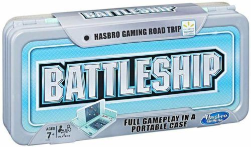 This is a very compact edition of battleship for play in a car or on a plane.