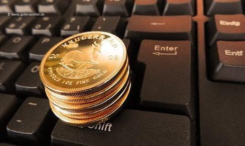 Gold kaufen, Online, Krügerrand