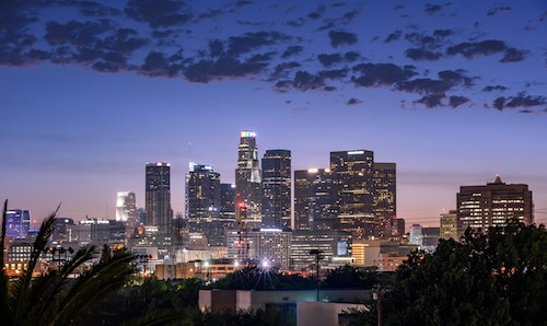 Downtown LA City-scape   2-3 Day Itinerary For the Best Things to Do in Los Angeles, California   Winetraveler.com