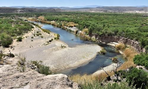 Rio Grande in Big Bend