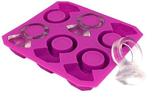 diamond ring ice cube tray