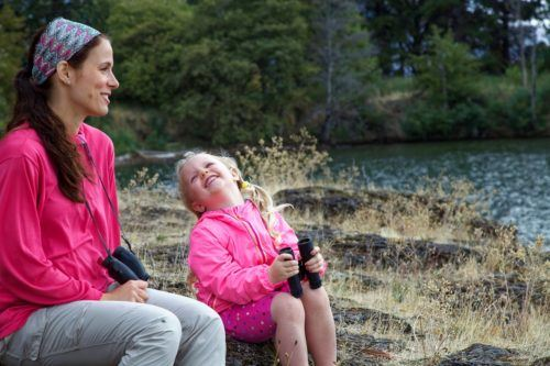 Use your staycation to get out in nature with your kids
