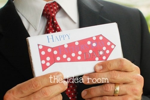 Fathers Day Gift - Free Candy Bar labels