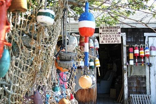 lobster traps -Rockport, MA - New England {Photo Tour} LivingLocurto.com