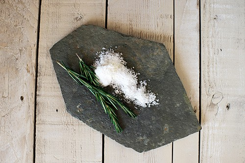 Rosemary Lavender Bath Salt - DIY Gift Idea