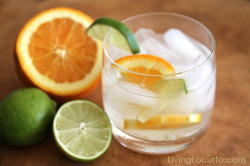 This Skinny Aloe Cocktail Recipe is perfect low carb, low calorie aloe water and vodka drink for lounging by the pool or serving at a party.
