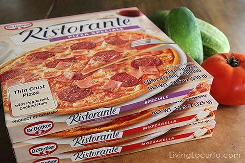 Ristorante Frozen Pizza by Dr. Oetker