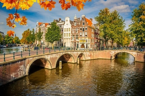 Best Places To Travel in Europe During Fall - Amsterdam | Winetraveler.com