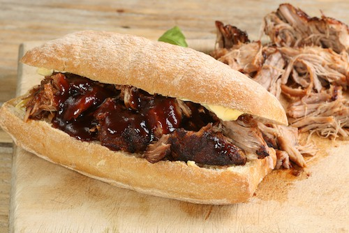 Barbecue Pulled Pork Sandwich Bordeaux Red Wine Pairing | Winetraveler.com