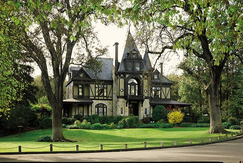 Beringer's Rhine House is said to be haunted by Frederick Beringer.
