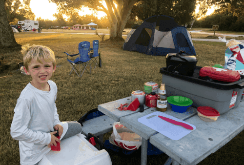 everglades camping