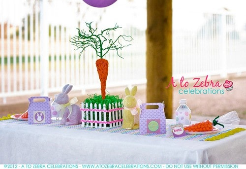 Easter Party Basket Craft Tutorial