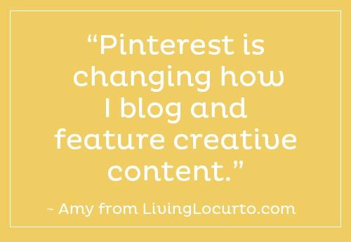 Pinterest Changing How I Blog |  LivingLocurto.com