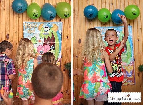 Monster University Birthday Party Ideas with Free Party Printables by Amy Locurto. LivingLocurto.com