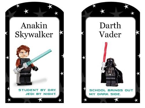 Free Printable Star Wars Lego Tags