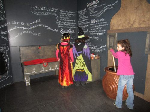 Play dress-up at the museum of civiliization in quebec city.