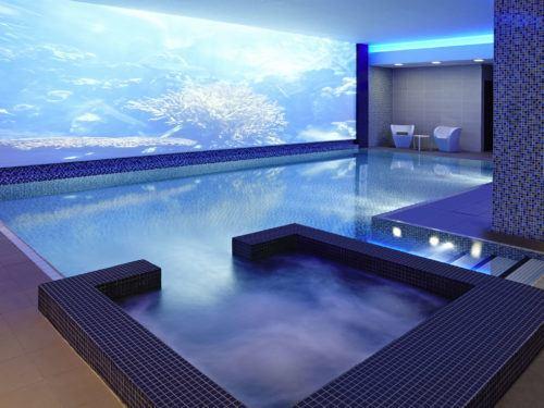 The novotel blackfriars has a family friendly pool