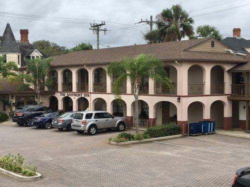 The bayfront inn in st. Augustine's historic district.