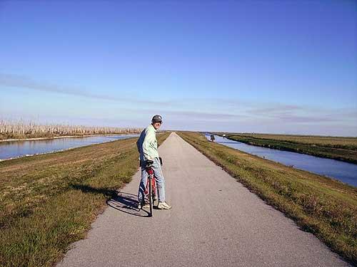 South Florida bike trails: Lake Okeechobee Scenic Trail