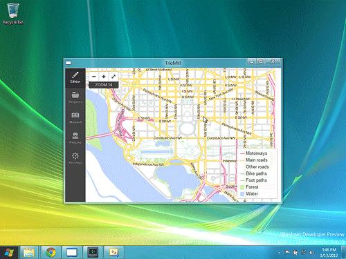 TileMill Now for Windows.